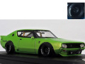 ignition model(イグニッションモデル) 1/43 LB-WORKS Kenmary 2Door Green Metallic ★生産予定数:140pcs