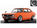 ignition model(イグニッションモデル) 1/43 トヨタ スプリンター トレノ(TE27)オレンジ ★生産予定数:120pcs ※Hayashi-Wheel