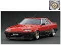 ignition model(イグニッションモデル) 1/18 日産 スカイライン 2000 RS-X Turbo-C (R30) レッド ※BB-Wheel ★生産予定数:240pcs