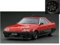 ignition model(イグニッションモデル) 1/18 日産 スカイライン 2000 RS-X Turbo-C (R30) レッド ※Watanabe-Wheel ★生産予定数:200pcs