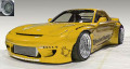 ignition model(イグニッションモデル) 1/18 Rocket Bunny RX-7 (FD3S) Yellow ★生産予定数:160pcs