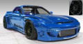 ignition model(イグニッションモデル) 1/18 Rocket Bunny RX-7 (FD3S) Blue Metallic ★生産予定数:140pcs
