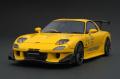 ignition model(イグニッションモデル) 1/18 マツダ RX-7 (FD3S) RE Amemiya Yellow ★生産予定数:160pcs