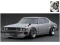 [予約]ignition model(イグニッションモデル) 1/18 日産 スカイライン 2000 GT-ES (C210) シルバー ★生産予定数:120pcs