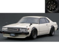 ignition model(イグニッションモデル) 1/18 日産 スカイライン 2000 Turbo GT-ES (C211) ホワイト ※Watanabe-Wheel ★生産予定数:140pcs