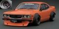[予約]ignition model(イグニッションモデル) 1/18 マツダ サバンナ (S124A) Semi Works オレンジ ★生産予定数:120pcs