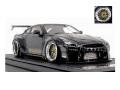[予約]ignition model(イグニッションモデル) 1/43 PANDEM R35 GT-R Black ★生産予定数:120pcs