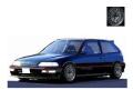[予約]ignition model(イグニッションモデル) 1/18 ホンダ CIVIC (EF9) SiR ブラック ★生産予定数:120pcs ※Mugen Type-Wheel