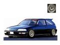 [予約]ignition model(イグニッションモデル) 1/18 ホンダ CIVIC (EF9) SiR ブラック ★生産予定数:120pcs ※Weds Type-Wheel