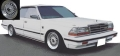 ignition model(イグニッションモデル) 1/43 日産 グロリア (Y30) 4Door Hardtop Brougham VIP ホワイト ★生産予定数:120pcs ※BB-Wheel