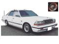 ignition model(イグニッションモデル) 1/43 日産 グロリア (Y30) 4Door Hardtop Brougham VIP ホワイト ※Wire-Wheel ★生産予定数:120pcs