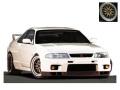 ignition model(イグニッションモデル) 1/18 日産 スカイライン GT-R (R33) V-spec ホワイト ★生産予定数:180pcs