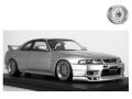 [予約]ignition model(イグニッションモデル) 1/18 日産 スカイライン GT-R (BCNR33) V-spec シルバー ★生産予定数:100pcs