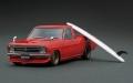 [予約]ignition model(イグニッションモデル) 宮沢模型特注モデル 1/43 日産 サニー Truck Long(B121) レッド