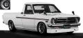 [予約]ignition model(イグニッションモデル) 1/18 日産 サニー Truck Long (B121) ホワイト ※Hayashi-Wheel ★生産予定数:100pcs