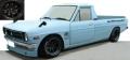 [予約]ignition model(イグニッションモデル) 1/18 日産 サニー Truck Long (B121) ライトブルー ★生産予定数:100pcs