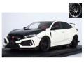 ignition model(イグニッションモデル) 1/18 ホンダ シビック (FK8) TYPE R ホワイト ★生産予定数:120pcs
