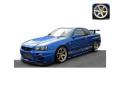 ignition model(イグニッションモデル) 1/43 TOP SECRET GT-R (BNR34) ブルー ★生産予定数:140pcs