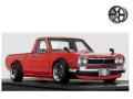 ignition model(イグニッションモデル) 1/43 日産 ハコトラ Long レッド ★生産予定数:120pcs