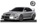 [予約]ignition model(イグニッションモデル) 1/18 三菱 ランサー Evolution VI GSR T.M.E (CP9A) シルバー ★生産予定数:120pcs