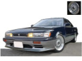 ignition model(イグニッションモデル) 1/18 日産 レパード (F31) Ultima V30TWINCAM TURBO ダークブルー/シルバー ※BB-Wheel ★生産予定数:160pcs
