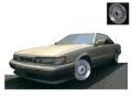 ignition model(イグニッションモデル) 1/18 日産 レパード (F31) Ultima V30TWINCAM TURBO ゴールド/シルバー ※BB-Wheel ★生産予定数:120pcs