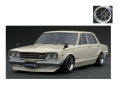 ignition model(イグニッションモデル) 1/43 日産 スカイライン 2000 GT-R (PGC10) ホワイト ★生産予定数:100pcs