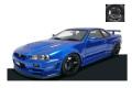 ignition model(イグニッションモデル) 1/43 Nismo R34 GT-R R-tune ベイサイドブルー ★生産予定数:160pcs