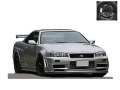 ignition model(イグニッションモデル) 1/43 ニスモ R34 GT-R Z-tune シルバー ★生産予定数:160pcs