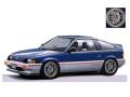 [予約]ignition model(イグニッションモデル) 1/18 ホンダ バラード スポーツ CR-X Si (E-AS) ブルー/シルバー ★生産予定数:100pcs