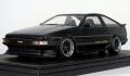 <宮沢模型限定>ignition model(イグニッションモデル) 1/18 トヨタ Sprinter Trueno AE86 3Door GT Apex Black Limited★生産予定数:111pcs