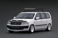 【SALE】ignition model(イグニッションモデル) 1/18 トヨタ プロボックス GL (NCP51V) ホワイト ★生産予定数:120pcs