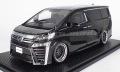 [予約]ignition model(イグニッションモデル) 1/18 トヨタ ヴェルファイア (30) ZG ブラック ★生産予定数:140pcs