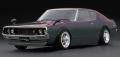 <宮沢模型限定>ignition model(イグニッションモデル) 1/43 日産 スカイライン 2000 GT-R KPGC110 メタリックパープル/グリーン ★生産予定数:137pcs