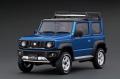 ignition model(イグニッションモデル) 1/18 SUZUKI Jimny SIERRA JC (JB74W) Bisk ブルーメタリック/ブラック Lift Up ★生産予定数:100pcs