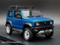 [予約]ignition model(イグニッションモデル) 1/18 SUZUKI Jimny SIERRA JC (JB74W) Bisk ブルーメタリック/ブラック Lift Up ★生産予定数:100pcs