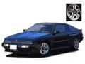 ignition model(イグニッションモデル) 1/18 三菱 スタリオン 2600 GSR-VR (E-A187A) ブラック ★生産予定数:100pcs