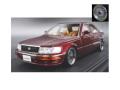 [予約]ignition model(イグニッションモデル) 1/43 トヨタ セルシオ (F10) ダークレッド ★生産予定数:100pcs