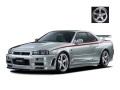 ignition model(イグニッションモデル) 1/18 Nismo R34 GT-R R-tune シルバー ★生産予定数:120pcs