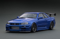 ignition model(イグニッションモデル) 1/18 Nismo R34 GT-R R-tune ベイサイドブルー ★生産予定数:120pcs