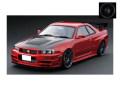 [予約]ignition model(イグニッションモデル) 1/18 Nismo R34 GT-R R-tune レッド (EN-Wheel) ★生産予定数:120pcs