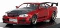 【SALE】【お1人様1個まで】ignition model(イグニッションモデル) 宮沢模型限定 1/64 Nismo R34 GT-R Z-tune レッドメタリック