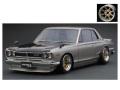 ignition model(イグニッションモデル) 1/43 日産 スカイライン 2000 GT-R (KPGC10) シルバー ★生産予定数:140pcs ※Watanabe-Wheel