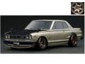 ignition model(イグニッションモデル) 1/43 日産 スカイライン 2000 GT-R (KPGC10) シルバー ★生産予定数:100pcs ※RA-Wheel