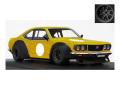 [予約]ignition model(イグニッションモデル) 1/18 マツダ Savanna (S124A) Racing イエロー ★生産予定数:100pcs