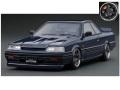 [予約]ignition model(イグニッションモデル) 1/18 Nissan Skyline GTS-R (R31)ブルーブラック ★生産予定数:140pcs