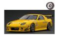 [予約]ignition model(イグニッションモデル) 1/43 Mazda RX-7 (FC3S) RE Amemiya Yellow ★生産予定数:100pcs