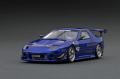 ignition model(イグニッションモデル) 1/43 Mazda RX-7 (FC3S) RE Amemiya Blue ★生産予定数:120pcs