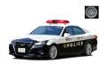 [予約]ignition model(イグニッションモデル) 1/18 トヨタ クラウン (GRS214) 神奈川県警察交通機動隊車両 438号 ★生産予定数:120pcs