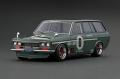 ignition model(イグニッションモデル) 1/18 Datsun Bluebird (510) Wagon グリーン ★生産予定数:140pcs